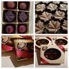 Chocolats noirs 76 % cacao au beurre d'érable - 6 unités